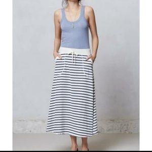 Saturday-sunday Anthropologie striped skirt